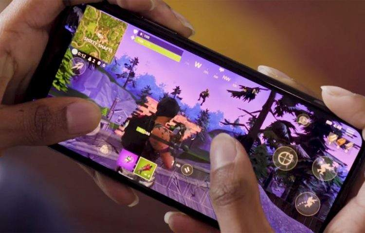 fortnite jogo smartphone epic games