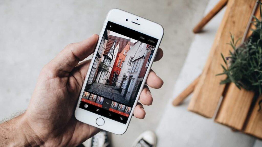 fotografia edicao smartphone