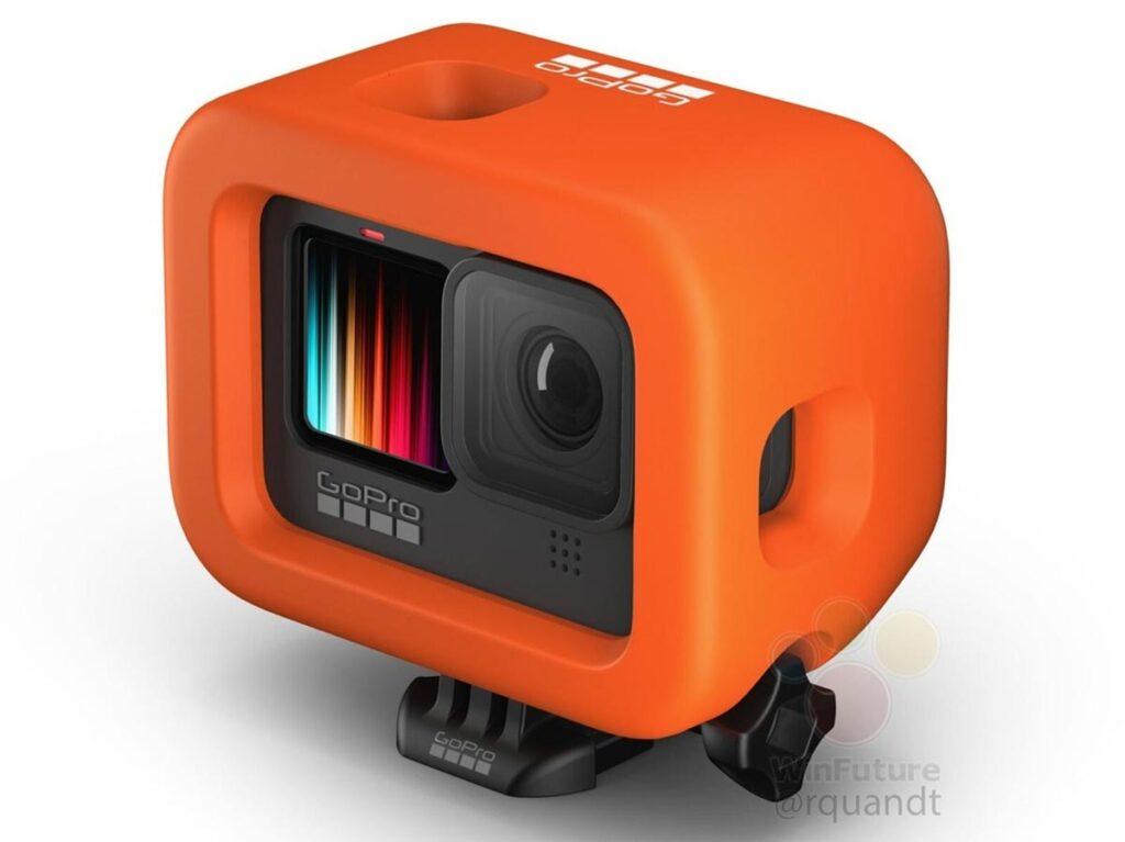 gopro hero 9 black capa laranja