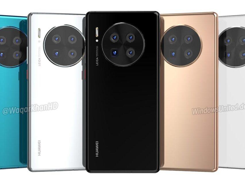 Série Huawei Mate 40 terá quatro versões e chegará a meio de outubro