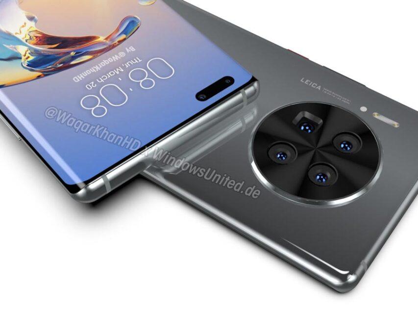 Este deverá ser o aspeto do Huawei Mate 40 Pro