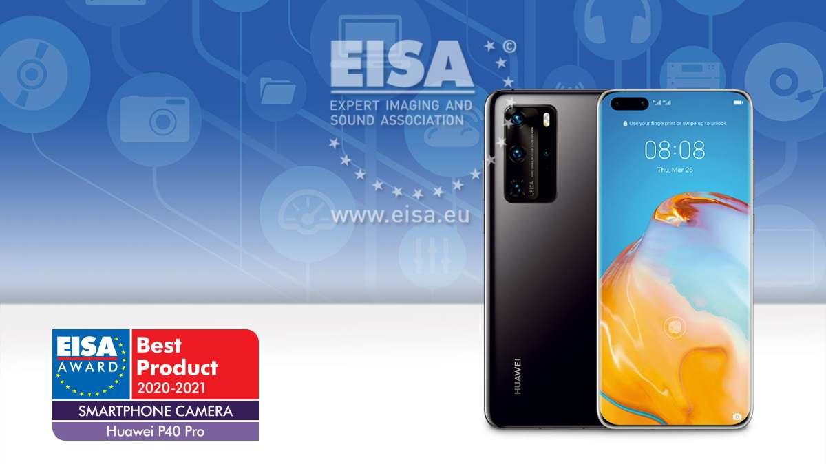 Huawei P40 Pro conquista prémio da EISA para melhor câmara num smartphone