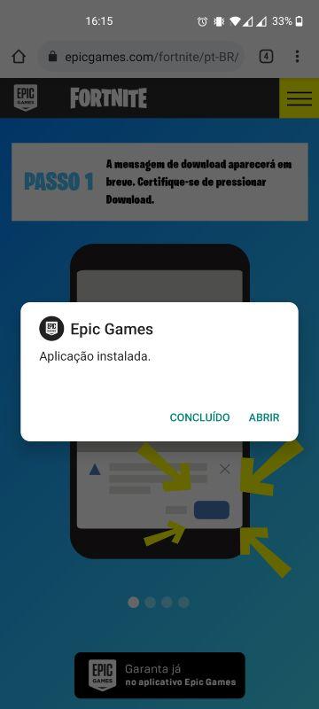 instalar fortnite android passo 3