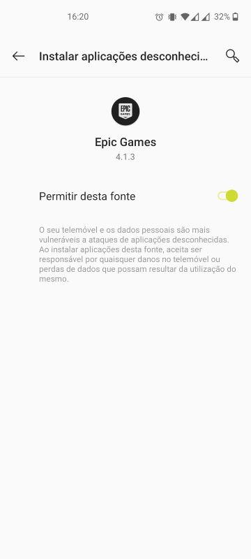 instalar fortnite android passo 8