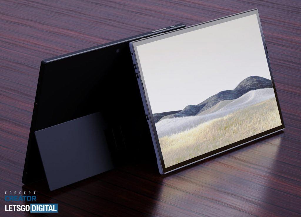 microsoft surface pro 8 render