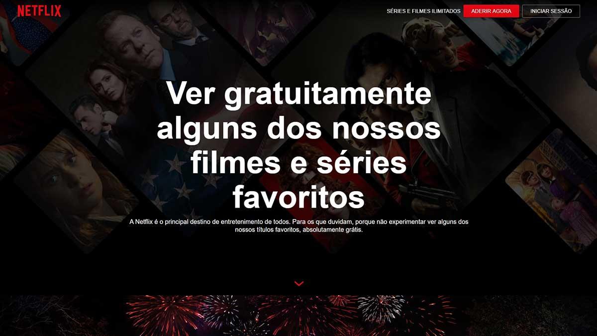 netflix ver filmes e series gratis