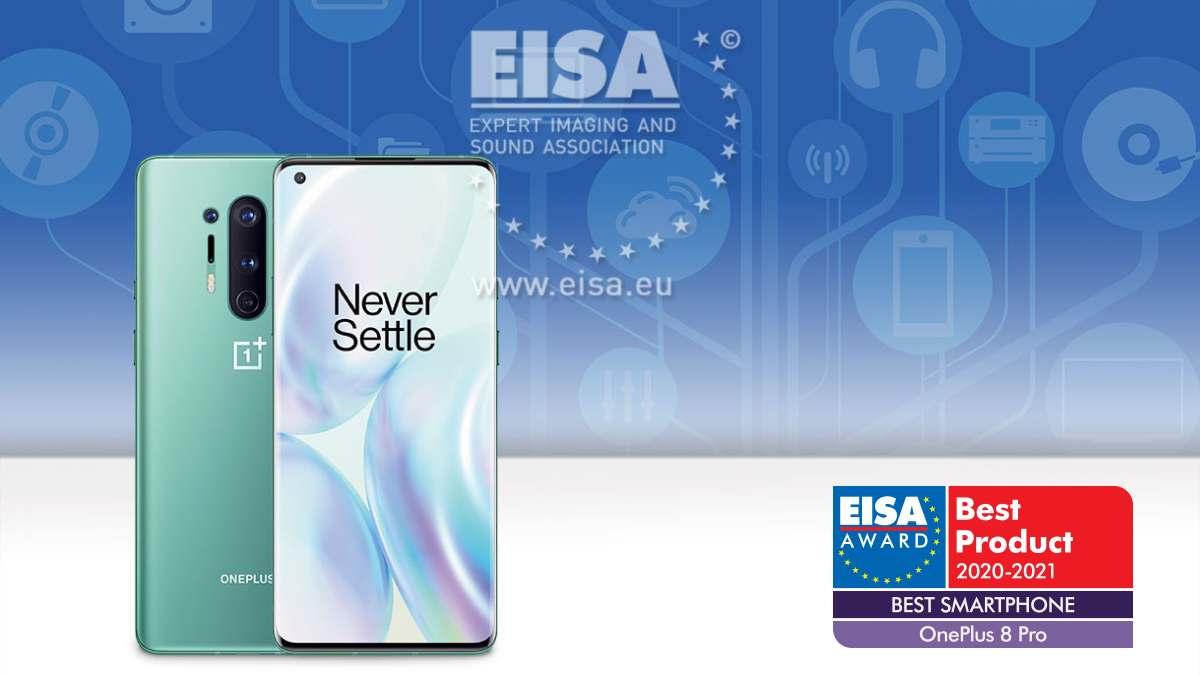 E o smartphone do ano para a EISA é o... OnePlus 8 Pro