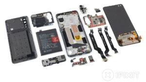 Construção em plástico do OnePlus Nord torna a sua reparação mais simples