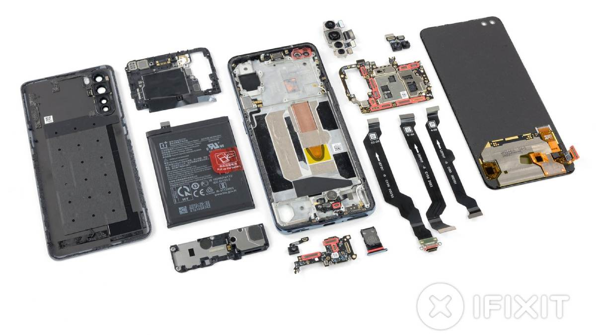 oneplus nord ifixit