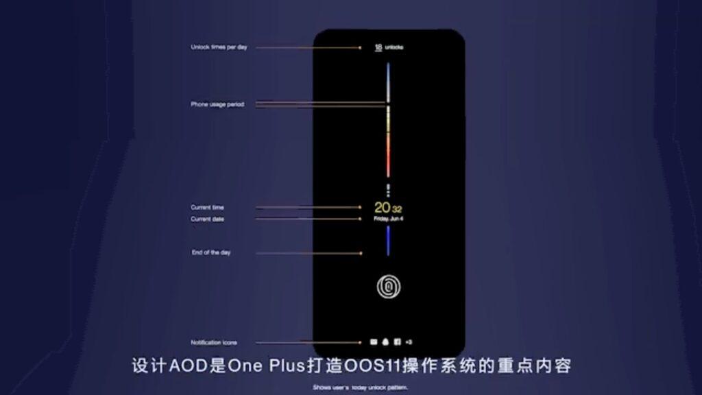 oneplus oxygenos 11 aod