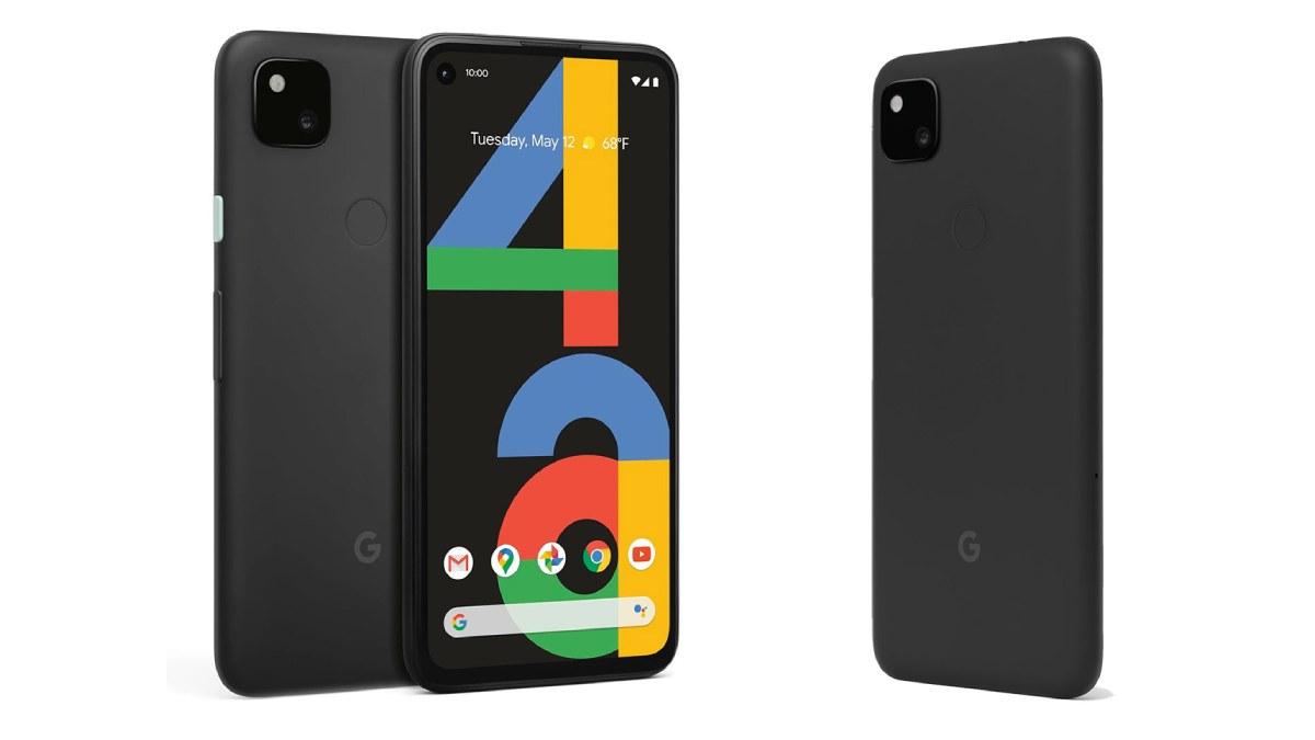 pixel 4a frente e traseira