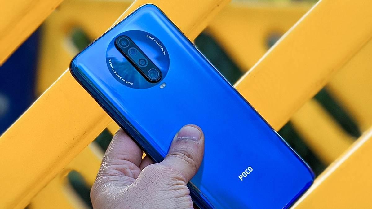 poco f2 smartphone