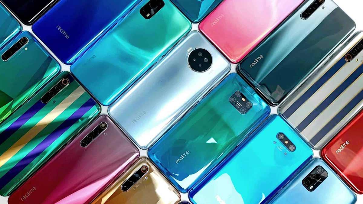 realme prototipos smartphones