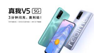 Realme V5 já é oficial e pode tornar-se um dos smartphones 5G mais económicos