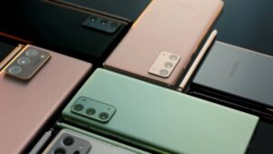 Samsung anuncia nova série Galaxy Note20