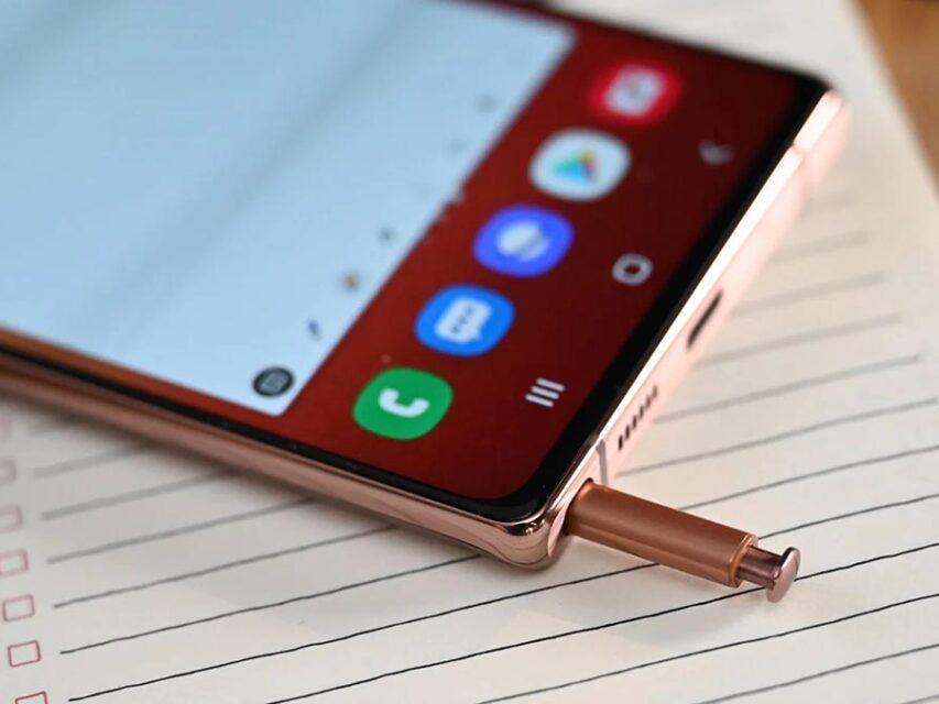 Novos rumores reafirmam existência de suporte para a S Pen no Samsung Galaxy S21 Ultra