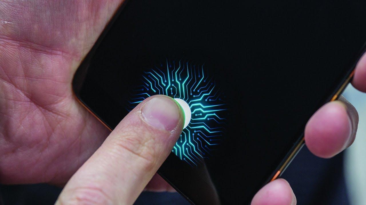 sensor impressao digital debaixo ecra