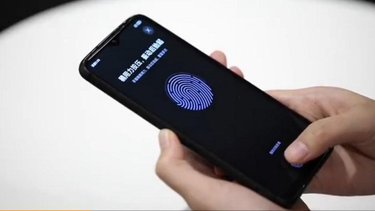 sensor impressao digital