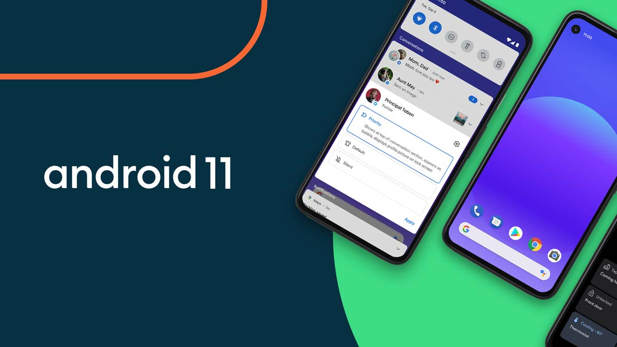 android 11 smartphones google