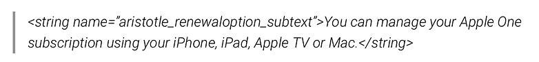 apple one gestao subscrição