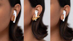 Designer de joias cria brincos que seguram os Apple AirPods
