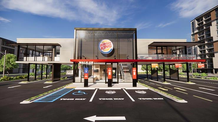 burger king novo conceito restaurante