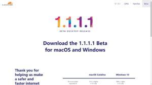 Cloudflare lança beta do 1.1.1.1 com WARP VPN para Windows e macOS