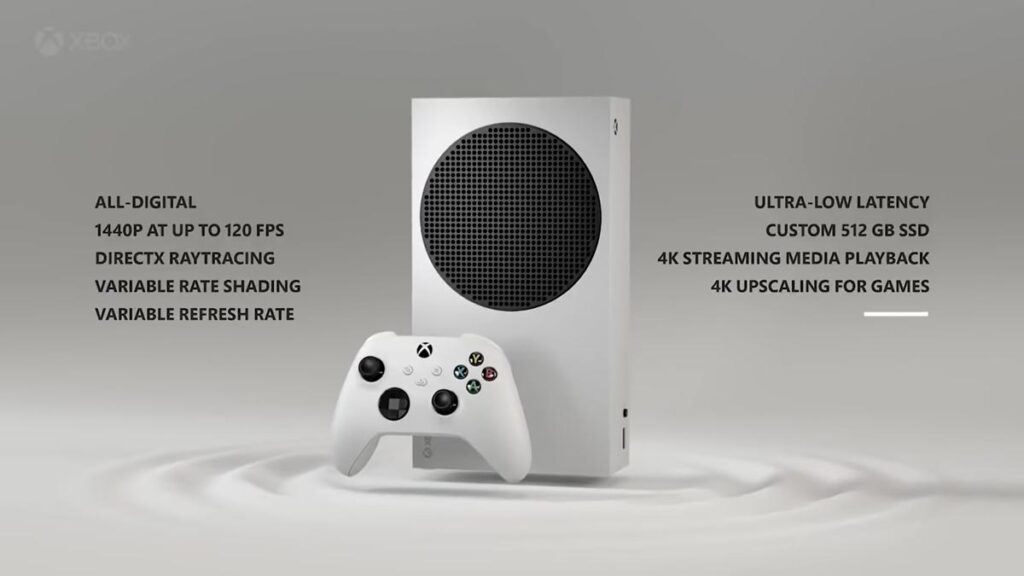 consola videojogos xbox series s