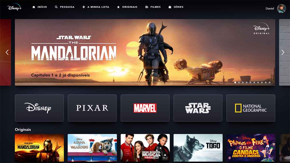 disney+ plataforma streaming