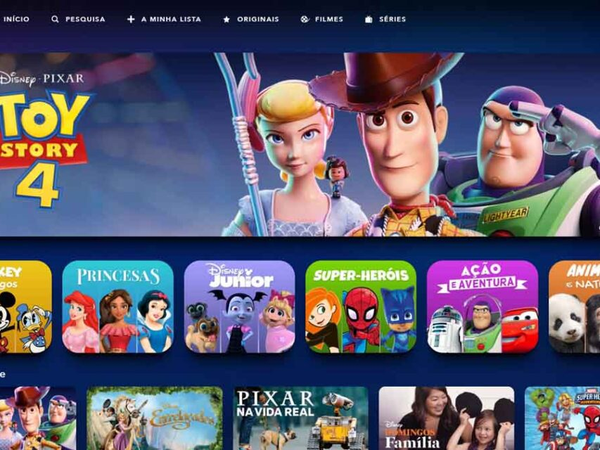 Saiba como pode criar um perfil infantil no Disney+