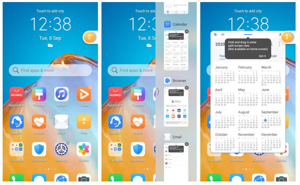 emui 11 smart multi window