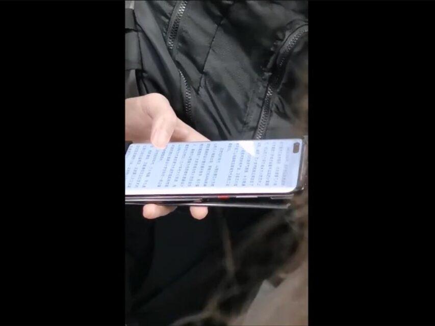Huawei Mate 40 surge em vídeo captado no metro