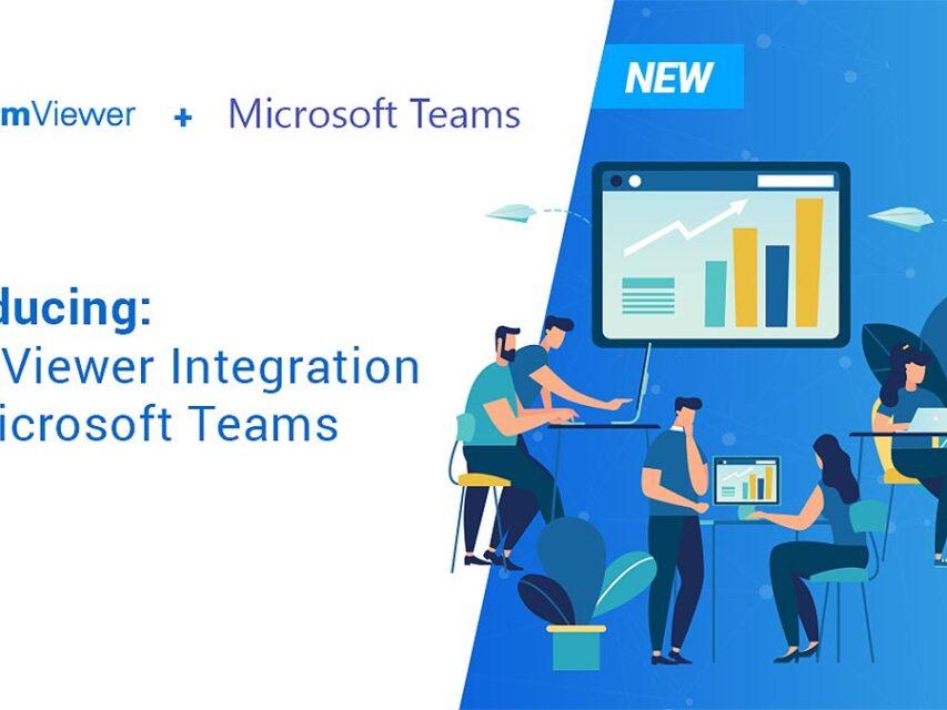 TeamViewer anuncia integração com Microsoft Teams