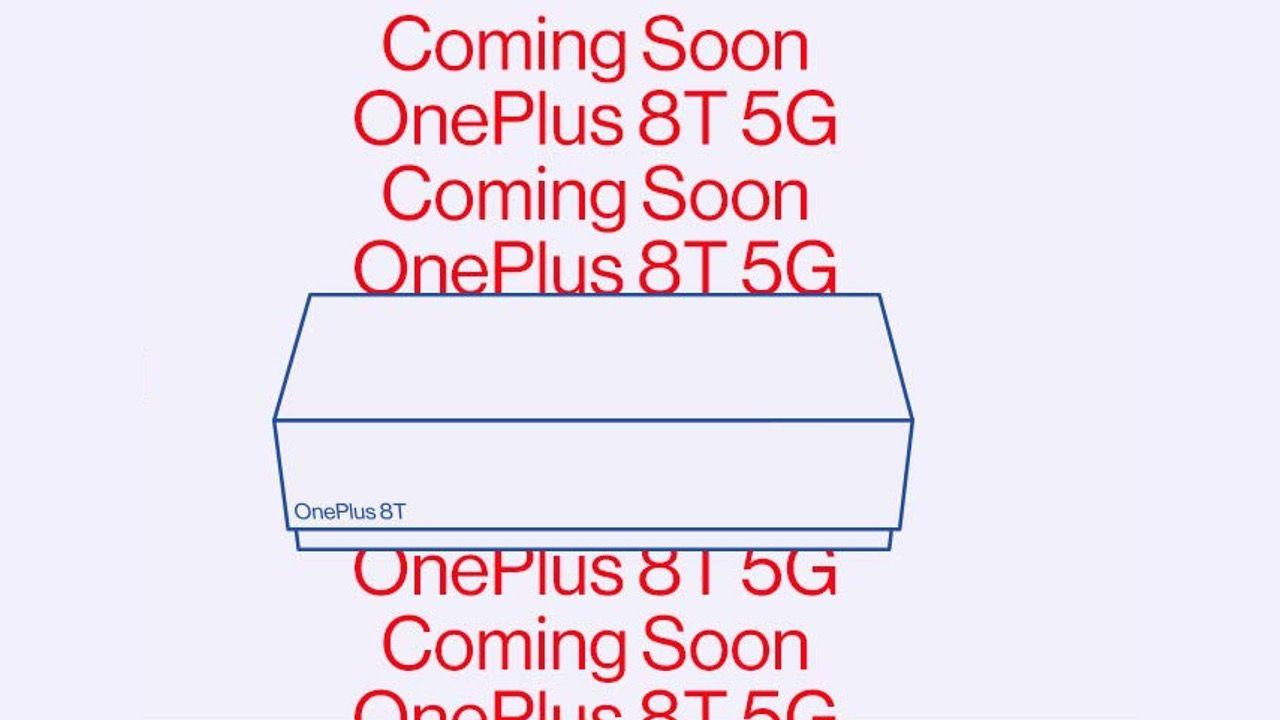 oneplus 8t 14 outubro