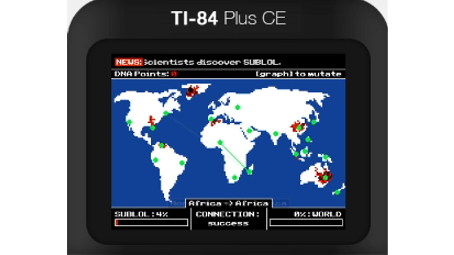 plague inc TI-84 contagious CE