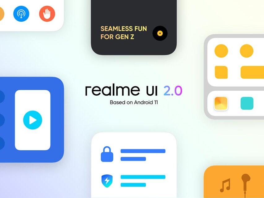 Realme publica calendário de atualizações detalhado para a Realme UI 2.0