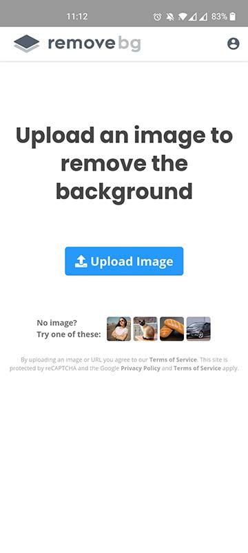removebg retirar fundo imagem android