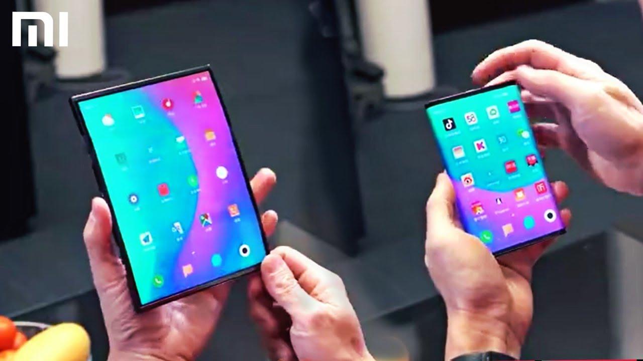 xiaomi smartphone dobravel prototipo