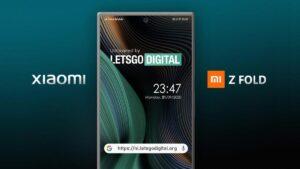 Patente revela Xiaomi Z Fold, um smartphone idêntico ao Samsung Z Fold 2