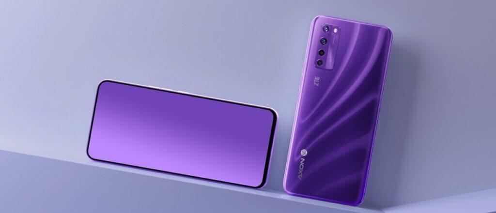 zte axon 20 5g smartphone android camara debaixo ecra 2