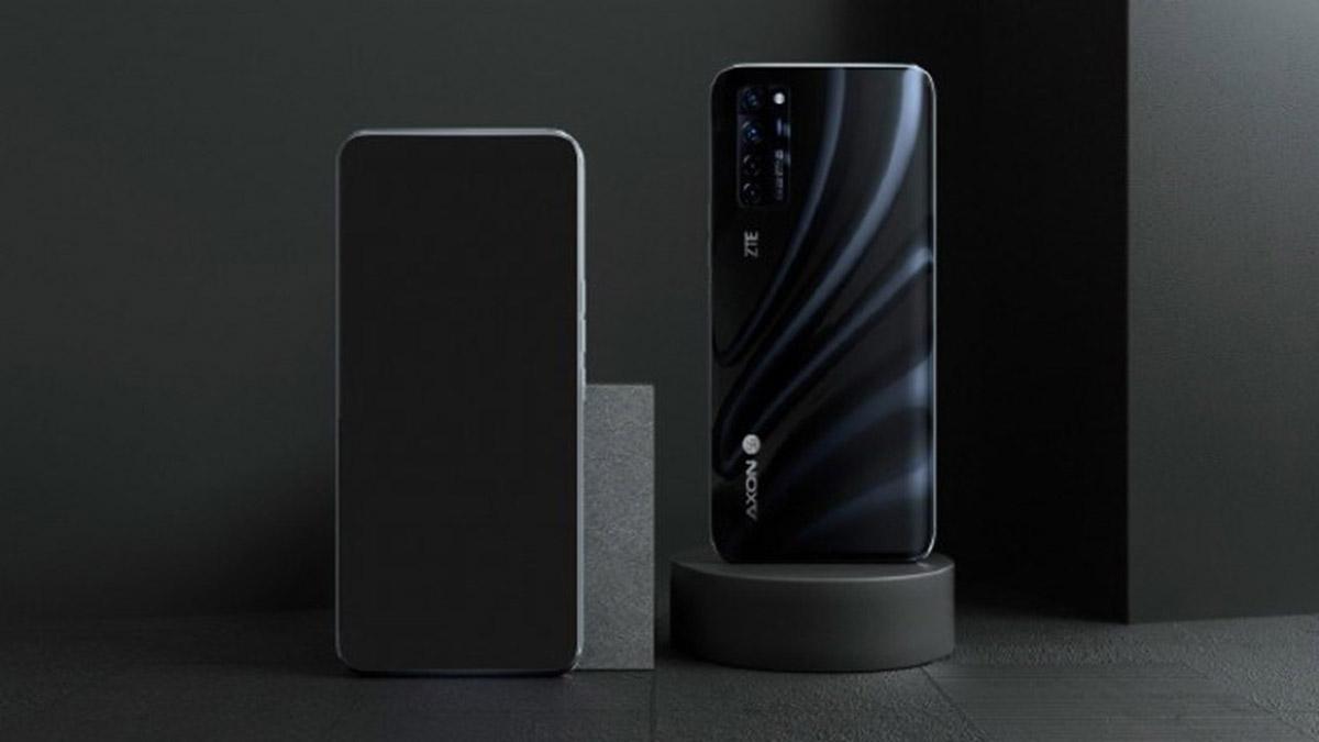zte axon 20 5g smartphone android camara debaixo ecra