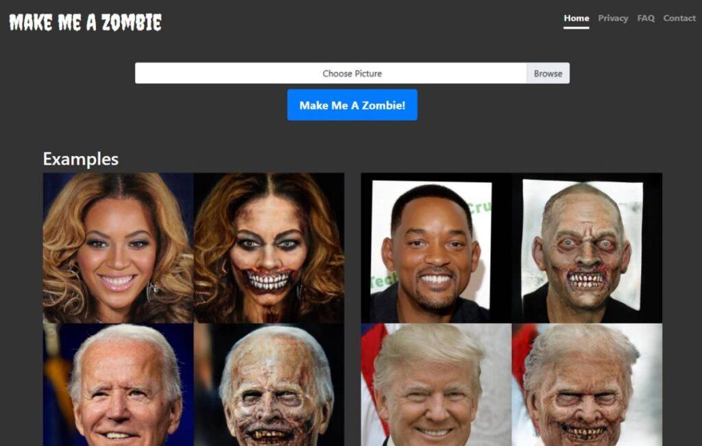 Make Me A Zombie transforme-se num zombie