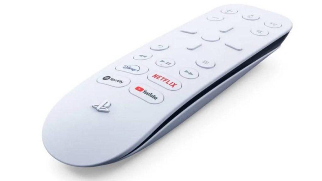 controlo remoto multimedia ps5