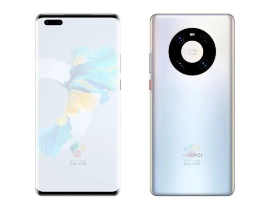 Especificações e aspeto do Huawei Mate 40 Pro revelados