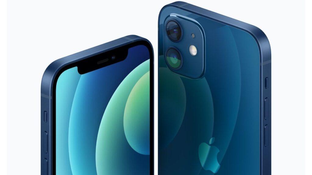 iphone 12 frente e traseira