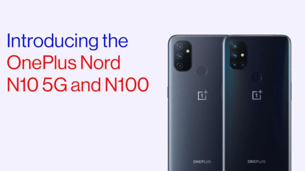 oneplus nord n10 n100