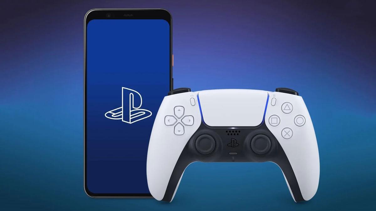 comando dual sense ps5 smartphone android