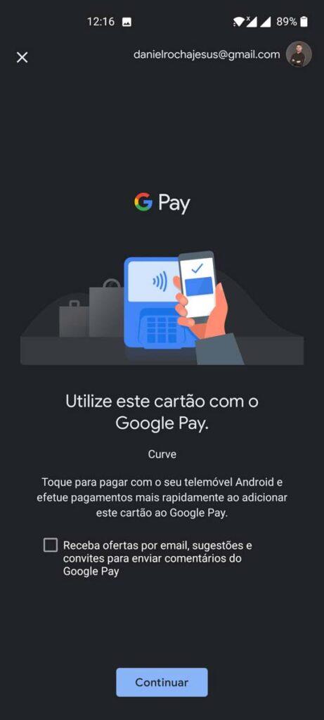 google pay curve