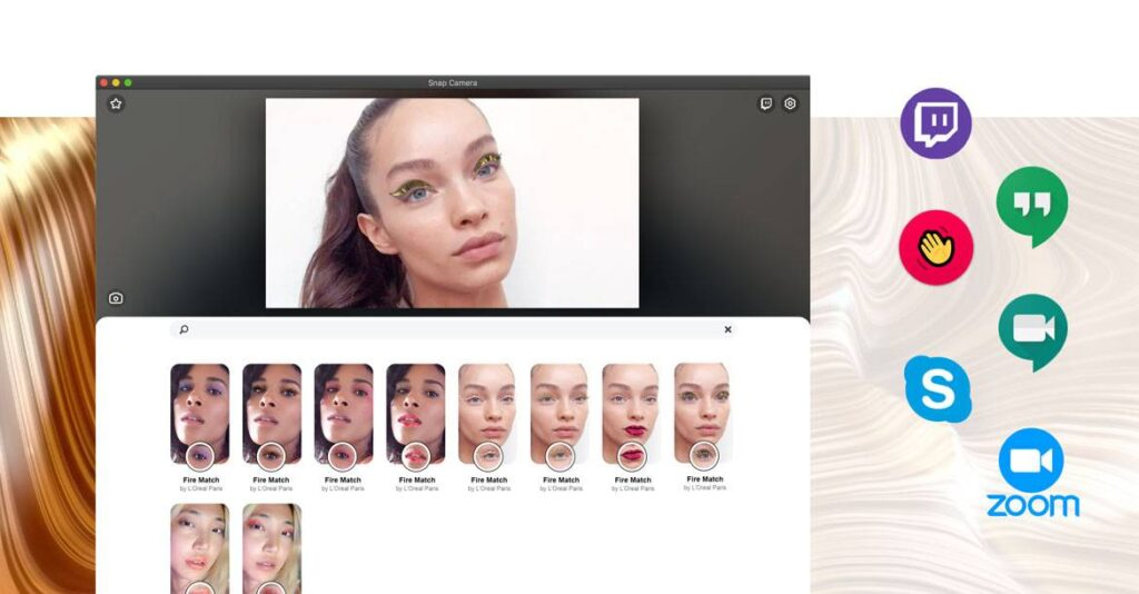 l'oreal signature faces filtro realidade aumentada