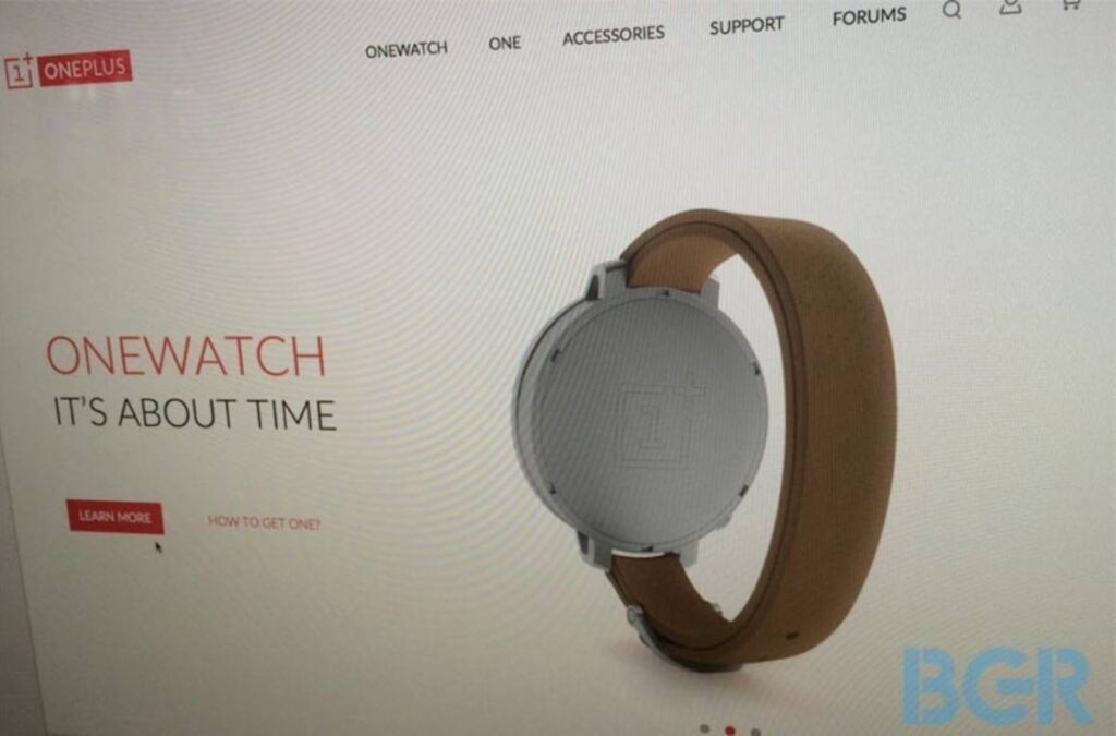 onewatch oneplus watch smartwatch